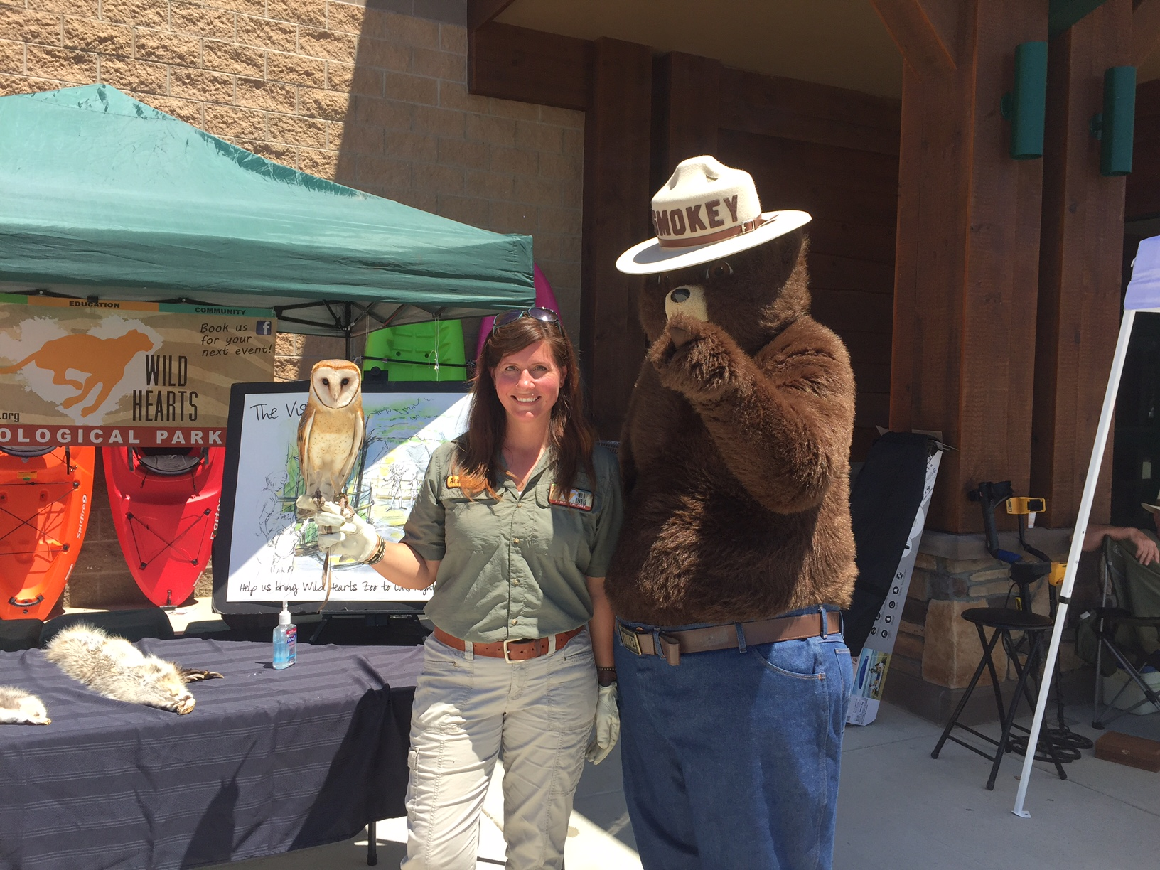 Wild Hearts and Smokey the Bear